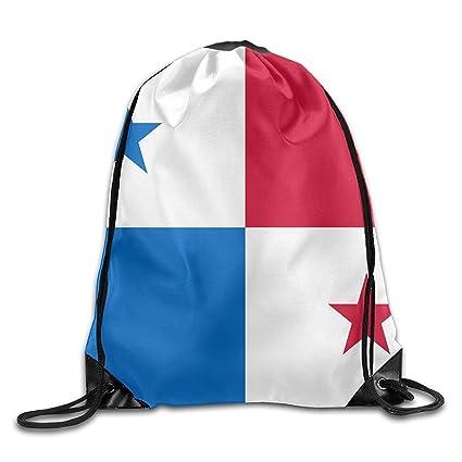 Vilico Bandera de Panamá Lindo Gimnasio Bolsa de Viaje Mochila Escolar