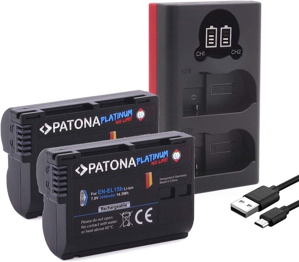 Patona Platinum Ersatz Für Akku Nikon En El15b Kamera