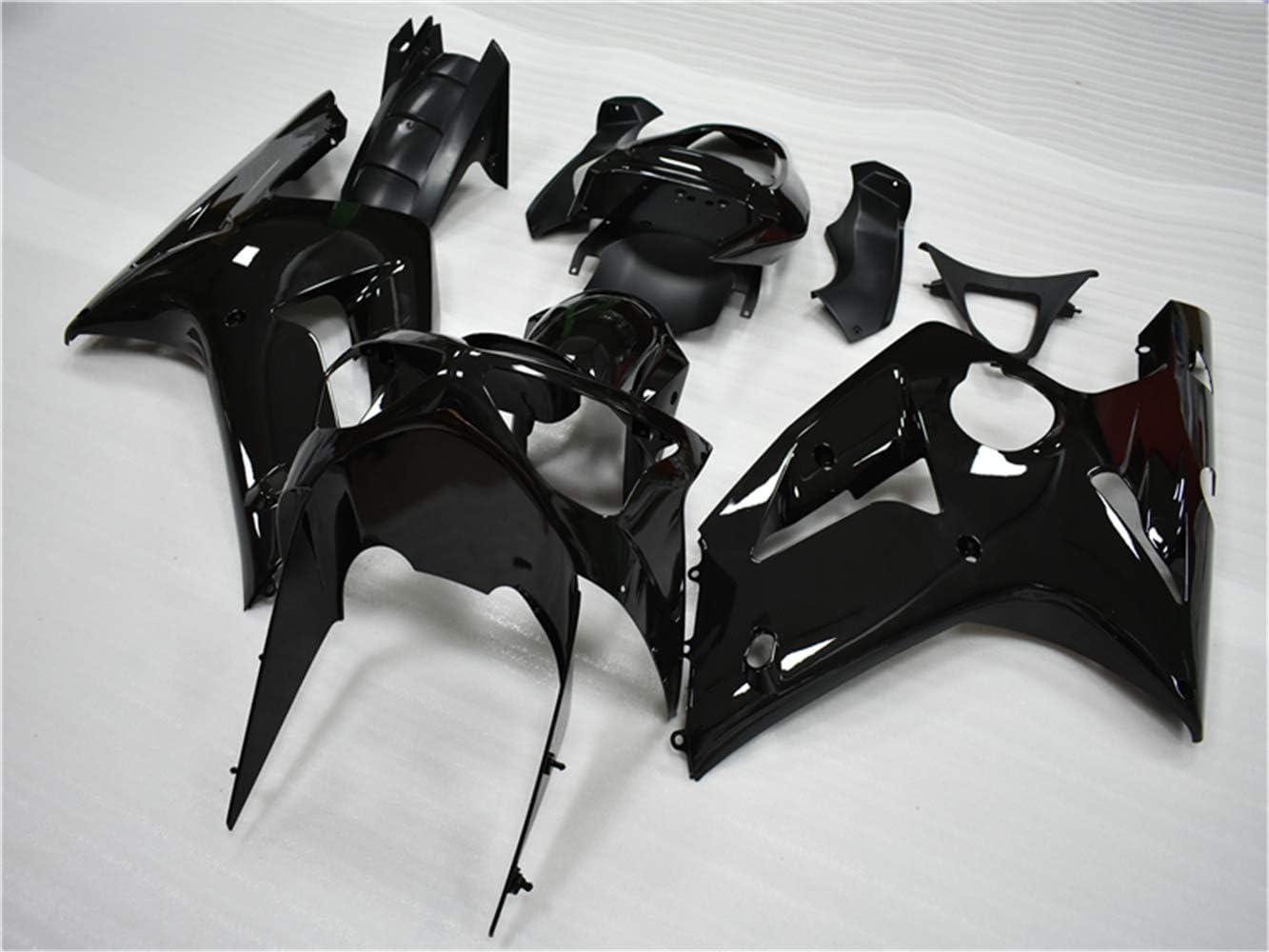 NT FAIRING Glossy Black Fairing Fit for KAWASAKI NINJA 2003 2004 ZX6R 636 New Injection Mold ABS Plastics Bodywork Body Kit Bodyframe Body Work 03 04 ZX-6R