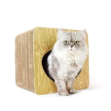 LHY Tablero de rasca para Gatos, Postes para rascar Gatos, Muebles de Gato,