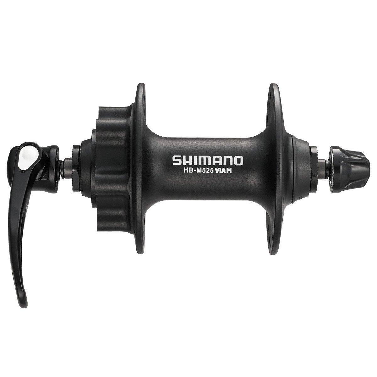 SHIMANO Front Mountain Bicycle Hub - HB-M525 (Black - 32H)