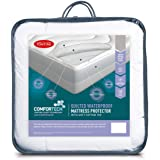 Tontine T6115 Comfortech Quilted Waterproof Mattress Protector,Queen