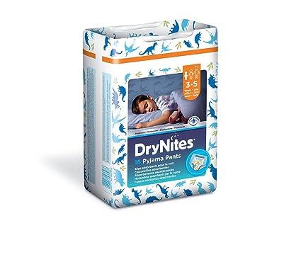 Drynites bragas absorbentes, Noche de Niños 3-5 años Doble Paquete de 16 piezas