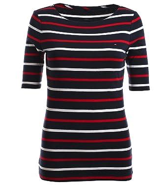 Tommy Hilfiger Damen 3 4 Arm Shirt Longsleeve Damenshirt gestreift Größe S 7f226f0b0f