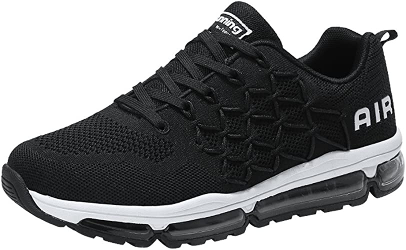 Men/'s Air Cushion Athletic Running Shoes Lightweight Sport Gym Jogging Walking
