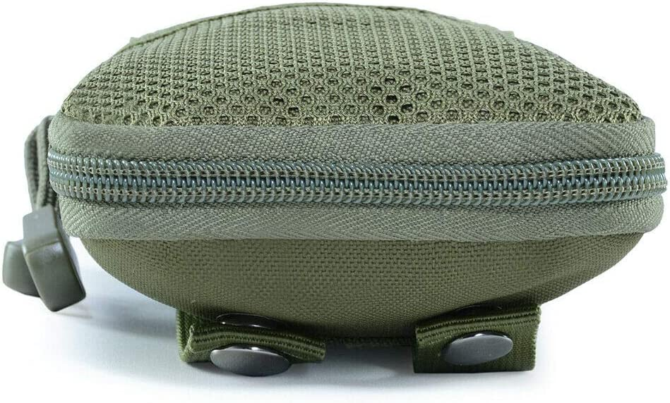 Army Green Tactical Small Phone Waist Bag Outdoor Camping Hiking Sports Pockets