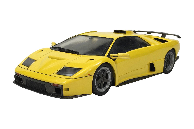 Aoshima Lamborghini Diablo Gt 1 24 Scale Model Kit Die Cast