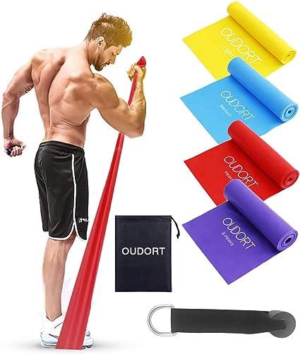 Widerstandsbänder Fitnessbänder Fitness Bänder Sport Muskeltraining Set Yoga Gym