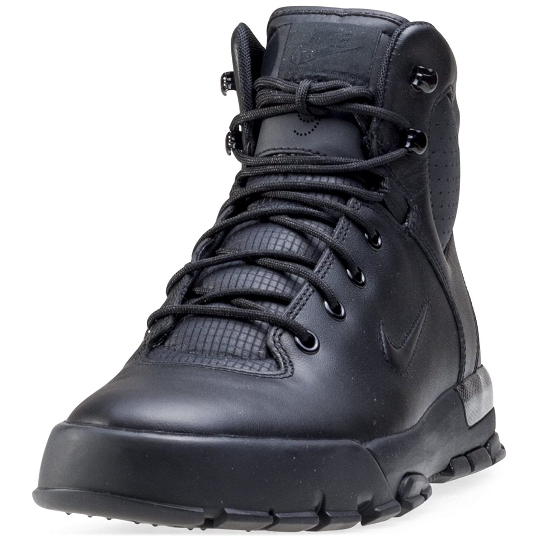 Nike Air Nevist 6 ACG Mens Boots [454402-002] Black/Black-Team Orange Mens Shoes 454402-002-8