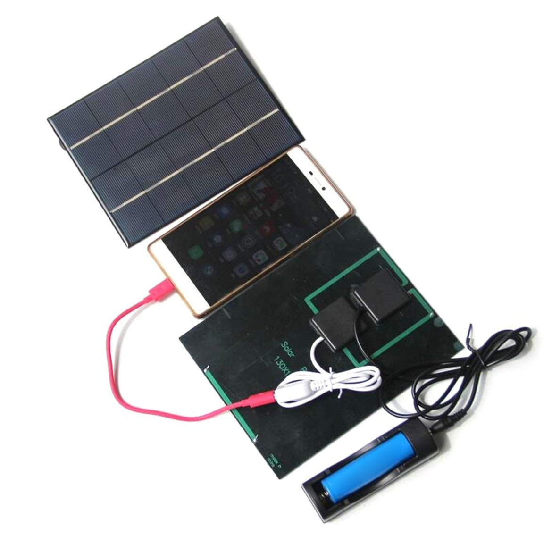 Teléfono celular 3.5W 5V panel de batería solar cargador del ...