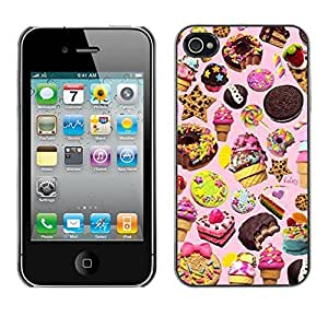 Planetar? ( Sweets Cake Ice Cream Cookie Pink ) Apple iphone 5c / iPhone 5c Hard Printing Protective Cover Protector Sleeve Case