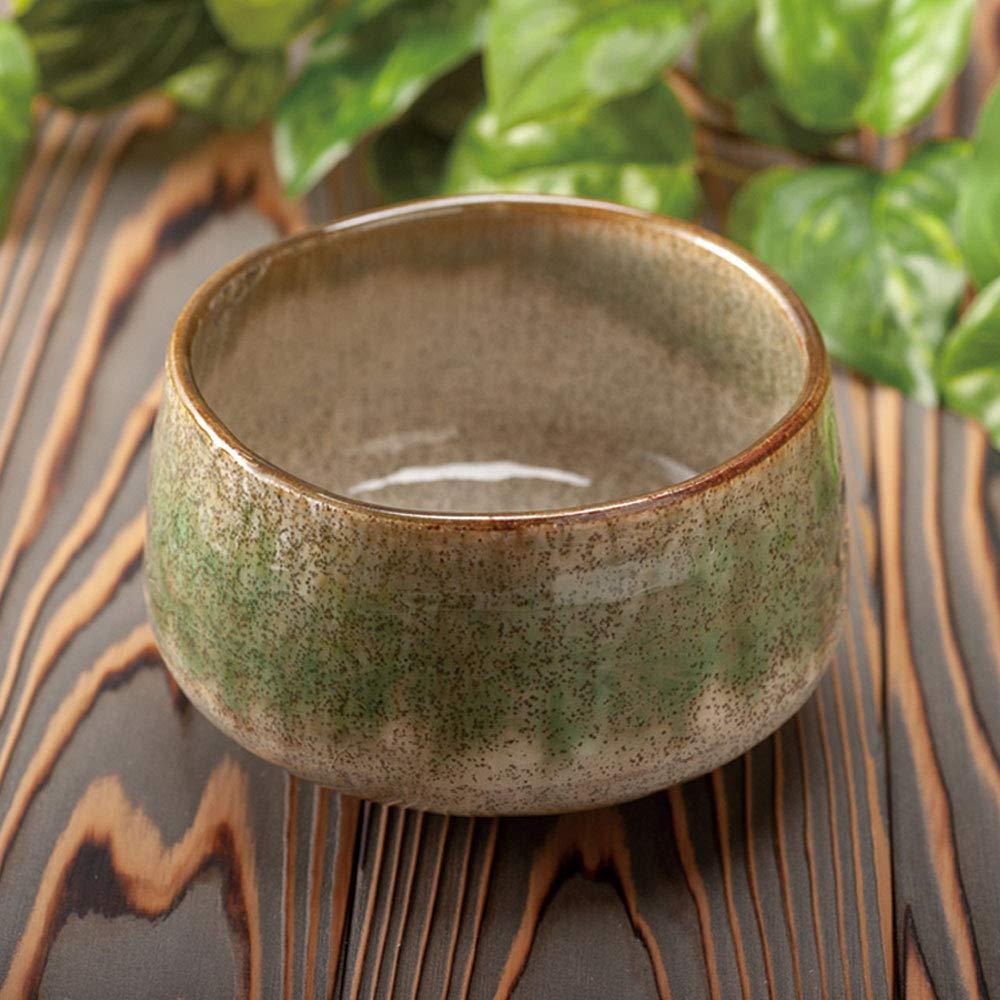 Minoyaki Shikibu Deep Forest Matcha Bowl''Ochawan'' (Made in Japan) by Ale-Net (Image #2)