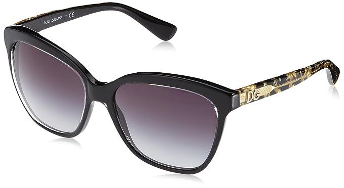 Amazon.com: Dolce & Gabbana anteojos de sol DG 4251, talla ...
