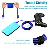 Nylon Braided PS4 Controller Charger Charging
