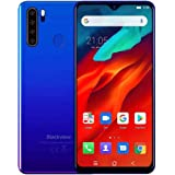 Unlocked Smartphone Blackview A80 Pro, 6.49 inch HD+, 4GB RAM+64GB ROM with 4680mAh Big Battery, 4G Dual SIM for AT&T, T-Mobi