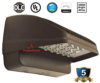Commercial Led Wall Lights: 22 Watt LED Wall Pack Light - Down Light – Cutoff Light– 1650 Lumens-,Lighting