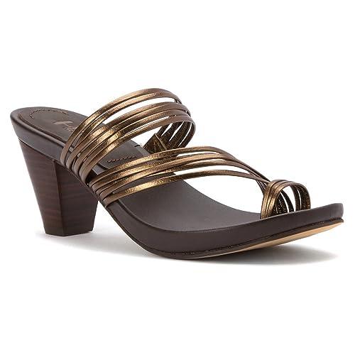 Mia Heritage Virgo Women US 8 Bronze Sandals
