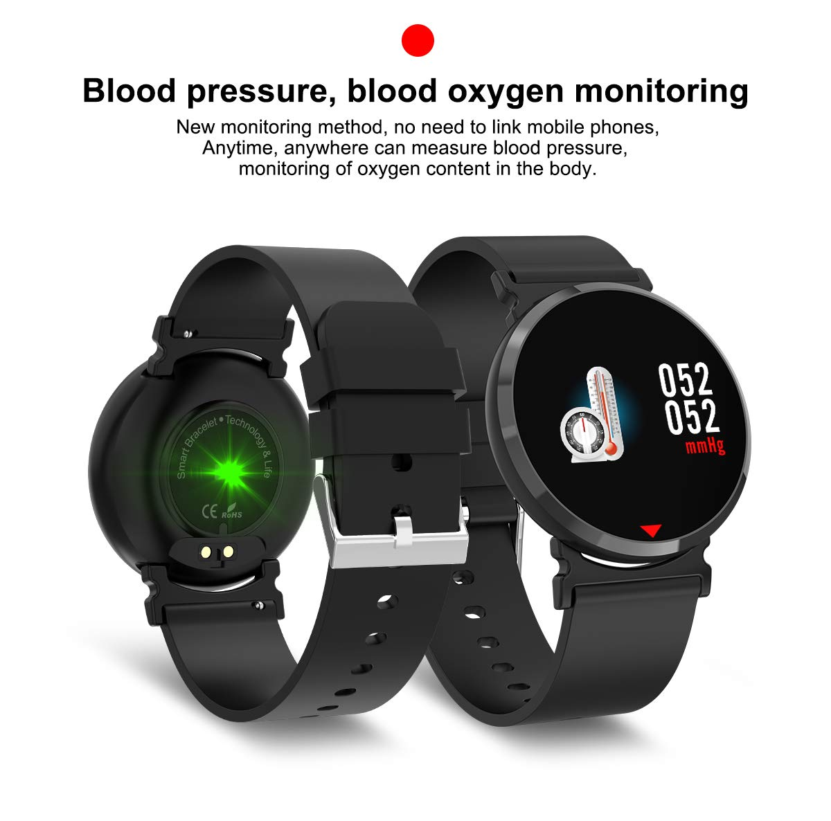Amazon.com: E28 Smart Watch Bluetooth Heart Rate Sleep Monitor Blood Pressure Oxygen Step Pedometer Calorie Distance Band Waterproof Bracelet Wristband for ...