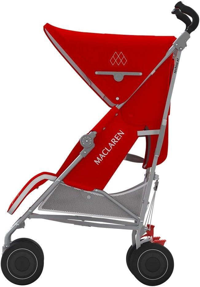 Maclaren Techno XT - Silla de paseo, color Cardinal/plata: Amazon ...