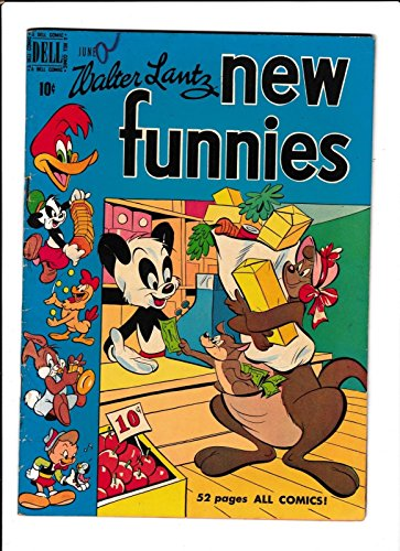 NEW FUNNIES #160 [1950 VG] GROCERY STORE - 160 Store