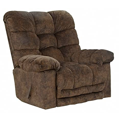 Super Catnapper Bronson Chaise Rocker Recliner Chestnut Gmtry Best Dining Table And Chair Ideas Images Gmtryco