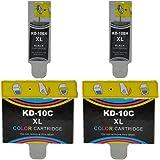 4x Druckerpatronen für Kodak 10b 10c