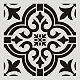 2pc Stencils Reusable 12x12 Inch Wall Template Stencil for Painting Wall/Floors/DIY Home Decor/Drawing Art