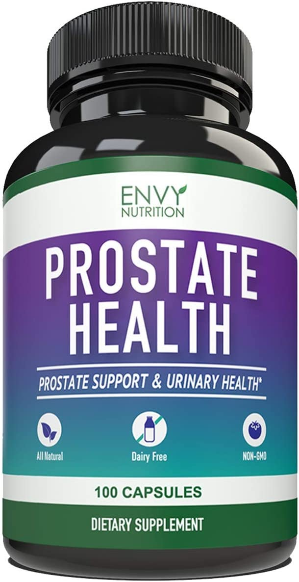 Advanced Prostate Health Supplements Enhanced Saw Palmetto Formula for Healthy Urinary Tract Bladder Health 100 Capsules