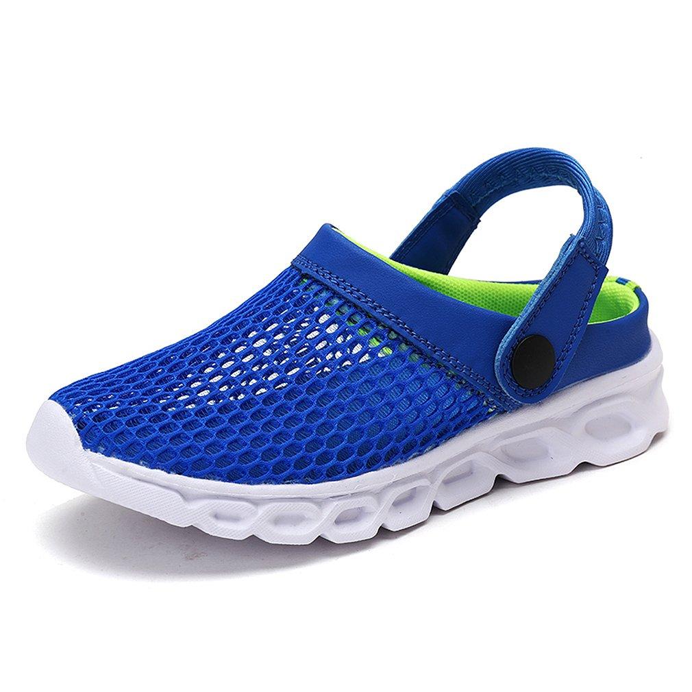 Unisex Kids Mesh Slipper Sandals Summer Breathable Clogs Garden Holiday Slip On shoes Shower Beach Mule Sandal