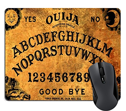 Wknoon Vintage Retro Ouija Boards Design Mouse Pad Large Gaming Mouse Pads Cute Mat