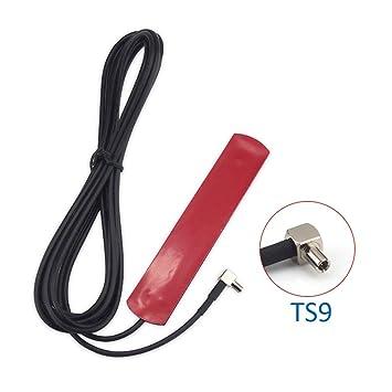 Amazon.com: 4G LTE Omni-directional antenna with TS9 Male Plug (3 ...