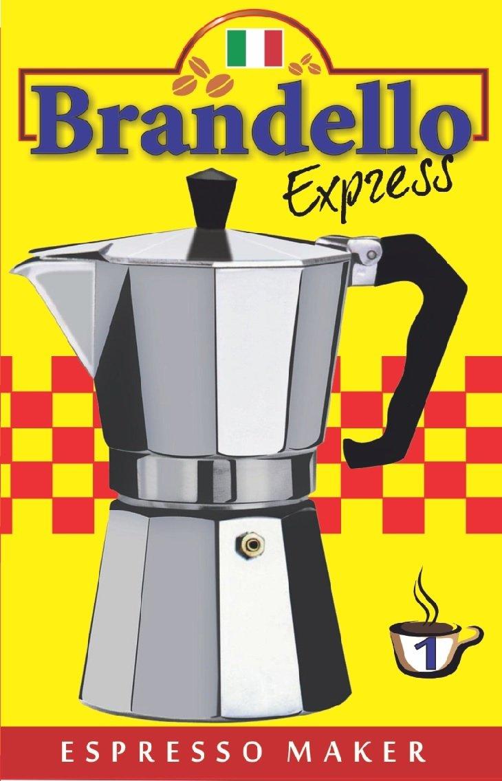 Aluminium Stovetop Espresso Maker Pot for Coffee - 1 Cup Size