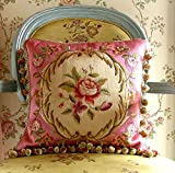 French palace-style pillow Silk Embroidered cushion covers Pillowcases wedding gift pillow-A 40x40cm(16x16inch)VersionB