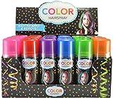 Temporary Hair Color Spray 3 oz - Case (24 Cans) - 7 Colors