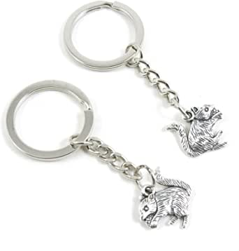 Fashion Jewelry Keyring Keychain Door Car Key Tag Ring Chain T6ZM4 Mouse Rat