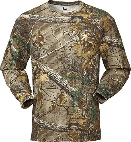 Field & Stream Men's Camo Long Sleeve Shirt (Realtree Xtra, L) (Camo Field Shirt)