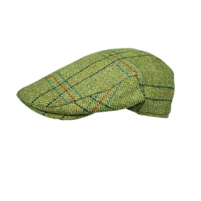 87340ef8f1 English Tweed Flat Cap Earland Brothers Made by Failsworth Hats 6 tweeds  Small to XXXL Size
