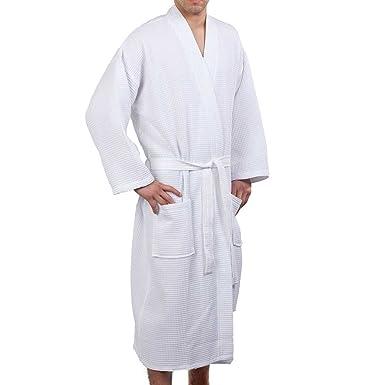 e9ccf597c1 QQI Men s   Women s Waffle Robe
