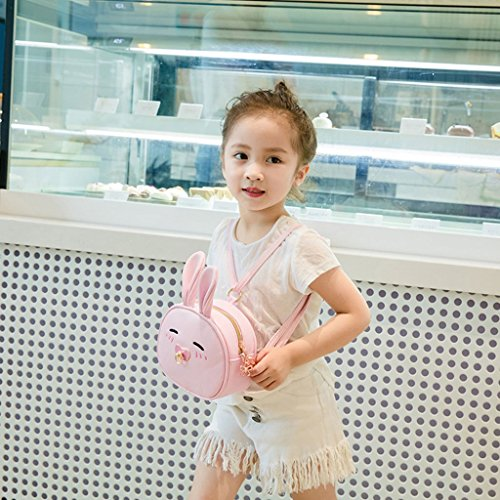 Cute Children Girl Backpack Jagenie Bag Bags Shoulder Pink Purse Red1 Kids Handbag For Crossbody UBdqEd