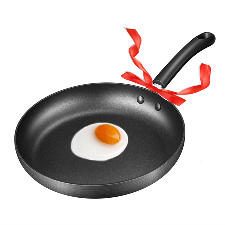 Frying Pan, Deik Nonstick Hard-Anodized Aluminum Pans, 11-inch  Omelette Frying Pan, Dishwasher Safe Cookware, APEO & PFOA-Free by Deik