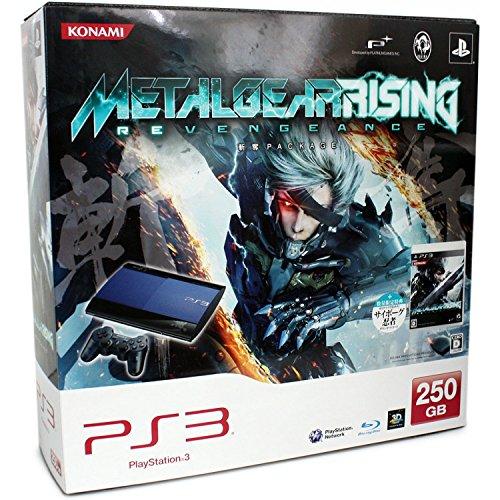 Sony Playstation 3 SuperSlim 250 GB Metal Gear Rising Rev...