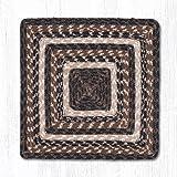 14''X14'' Mocha/Frappuccino Square Chair Pad