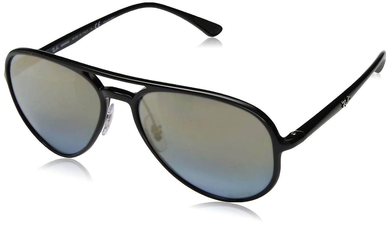 Ray-Ban RB4320CH Chromance Mirrored Aviator Sunglasses