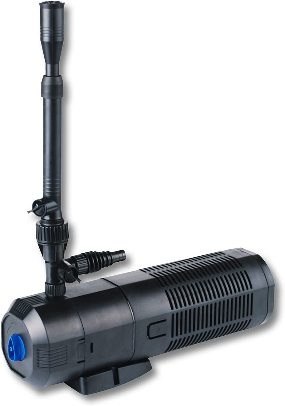 SunSun CUP-359 Bomba para estanques y Fuentes Bomba de Filtro UVC 9W 2000l/h 45W