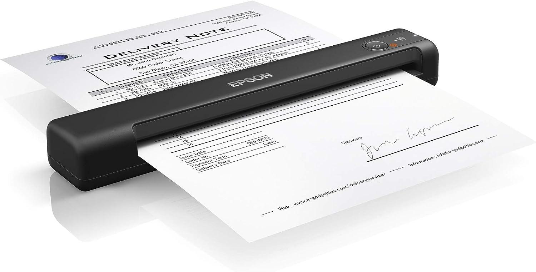 Epson Workforce ES-50 - Scanners (600 x 600 DPI, 48 bit, 24 bit, 16 bit, 8 bit, Scanner Portable)