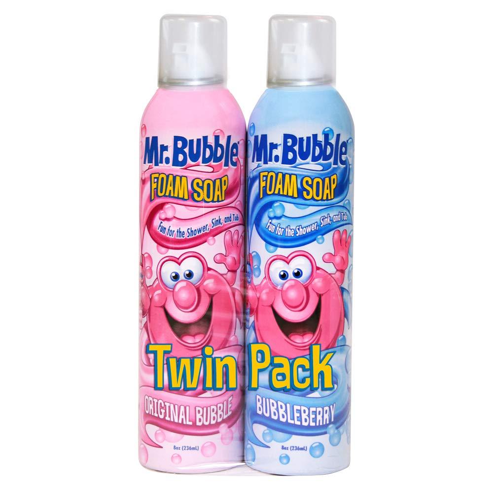 Mr. Bubble Foam Soap, Twin Pack, Rotating Scents, 8 oz Each