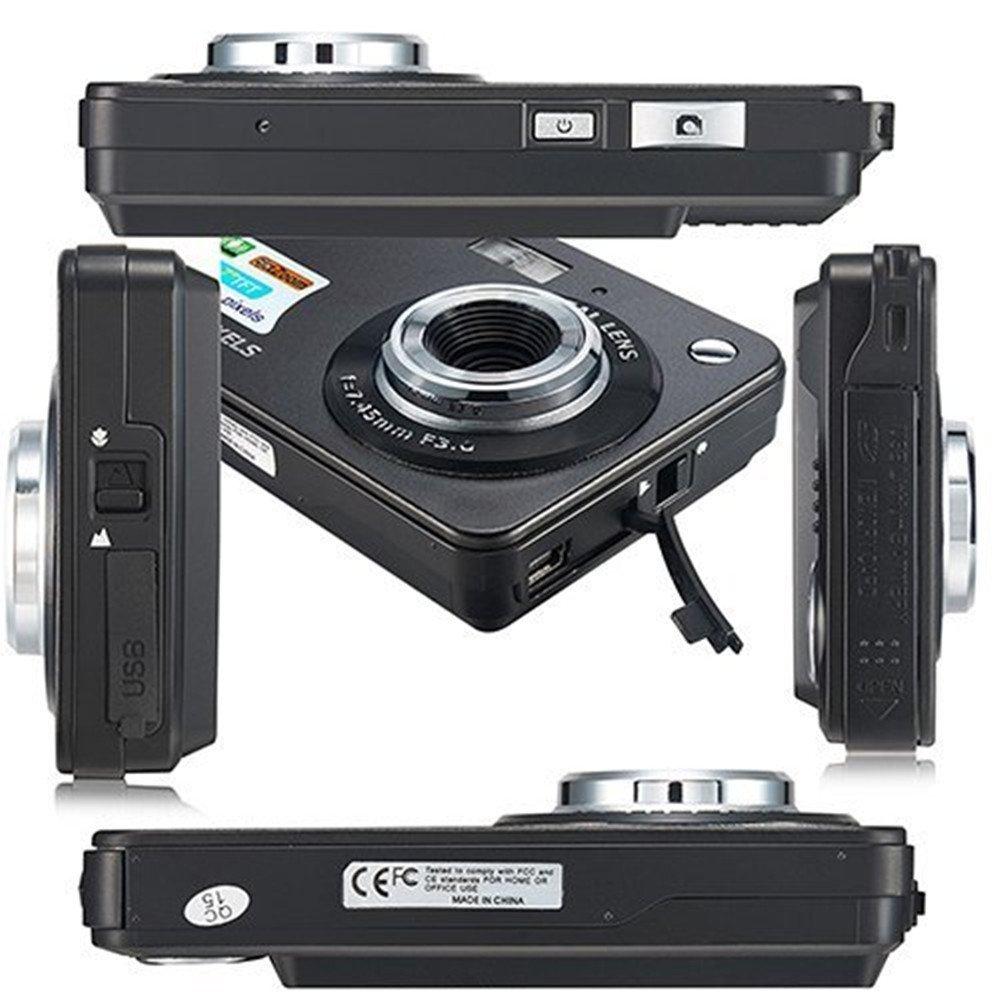 Yasolote HD Mini Point Shoot Digital Camera Video Recorder Cameras Sports,Travel,Holiday,Birthday Present by Yasolote (Image #3)