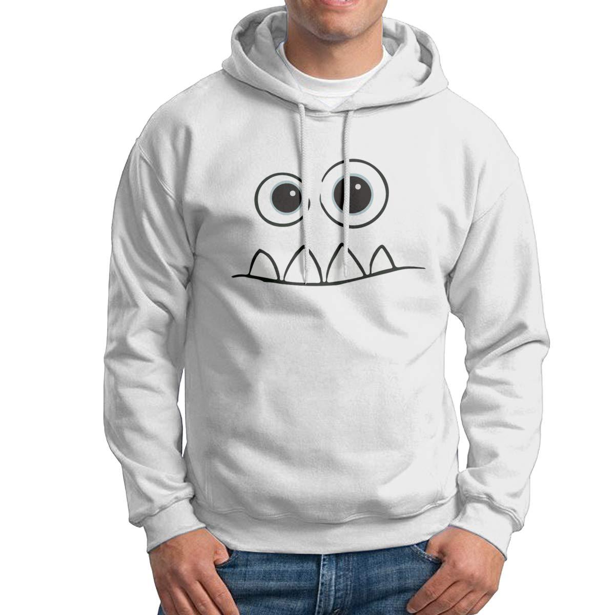 0c81667f05 Amazon.com: Monster Face Fendi Mike Men Pullover Hoodie Sweatshirts ...