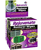 Restore and protect your faded, oxidized and sun-damaged possessions with Rejuvenate Restorer Wipes. This technologically advanced formula penetrates deep to restore faded, weathered indoor and outdoor surfaces to a brilliant shine. Rejuvenate Restor...