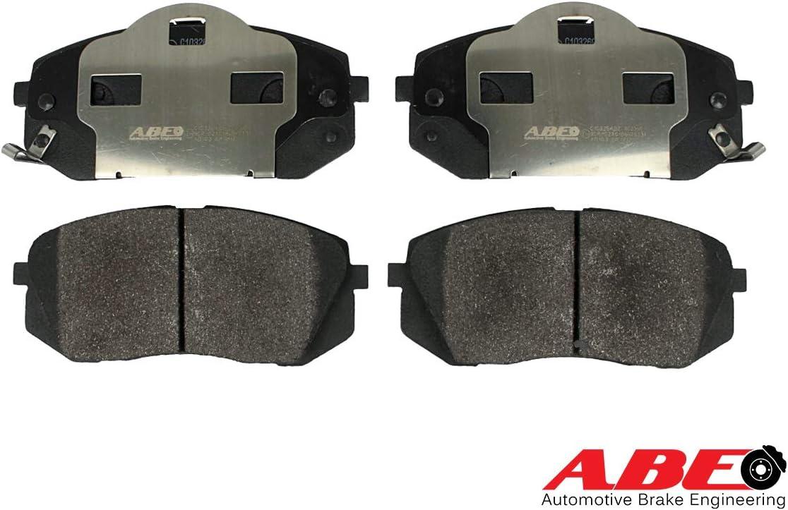 Bremssteine Bremskl/ötze Vorne Scheibenbremse Scheibenbremsbelage ABE C10326ABE Bremsbelagsatz